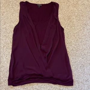 Gently used Express Sleeveless Top- Large